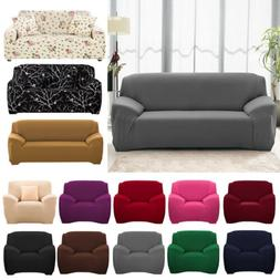 1 2 3 4 Seater Stretch Chair Cover Sofa Covers Elastic Prote