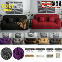 1,2,3,4 Seater Stretch Chair Sofa Covers Couch Cover Protect