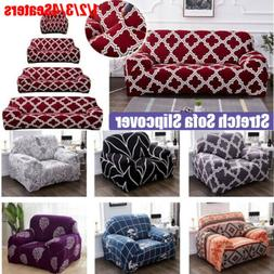 Printing Sofa Cover Stretch Couch Sofa Slipcovers for 1-4 Se