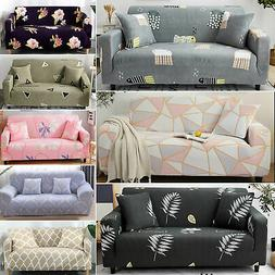 1- 4 Seater Sofa Stretch Sofa Cover Couch Lounge Recliner Sl