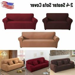 2/3/4 Seater Sofa Cover Stretch Seat Couch Covers Funiture S