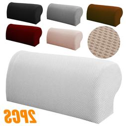 2Pcs Sofa Armrest Covers Stretchy Couch Chair Arm Rest Prote