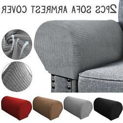2x 21''x6''x10'' Stretch Chair Armrest Covers Sofa Arm Prote
