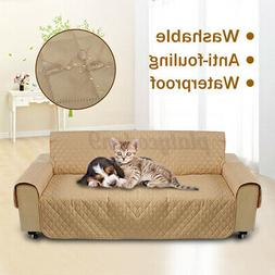 3 Seater Pet Sofa Couch Cover Removable Quilted Protector Sl