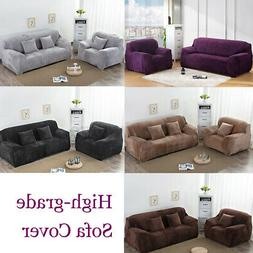 3-Seater Stretch Elastic Sofa Covers Pat Couch Washable Furn
