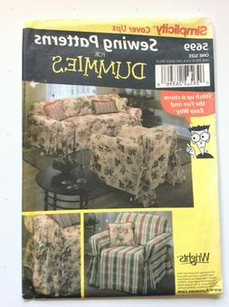 Simplicity 5699   SOFA AND CHAIR COVERS AND PILLOWS