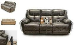 Besti Plastic Couch Cover for Pets - Clear Slipcovers for Bi