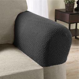 Collections Etc Armrest Covers for Recliners, Sofas, and Cha