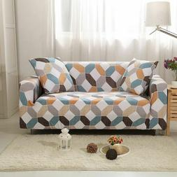 Elastic Sofa Slip Cover Resistant Living Room Sectional Couc
