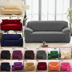 1 - 4 Seat Stretch Chair Sofa Cover Slipcover Couch Covers E