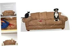 """Houseables Couch Covers For Dogs, Cat Scratch Deterrent, 96"""""""
