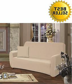 JERSEY STRETCH SLIPCOVER, COUCH COVER, FURNITURE SOFA ELEGAN