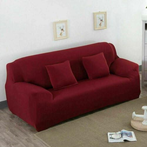 2 4 Sofa Cover Stretch Color Couch Slipcover Living Room