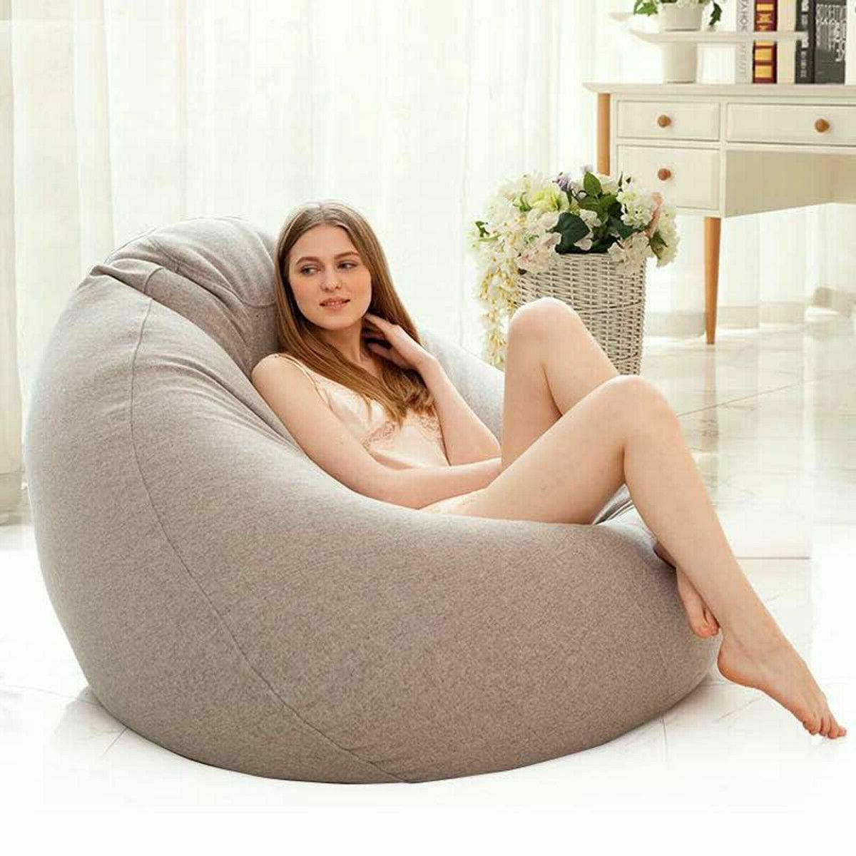 lazy bean bag sofas cover chairs filler