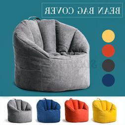 Large Bean Bag Chair Sofa Couch Cover Indoor Lazy Lounger Ho