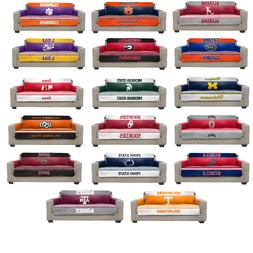 NCAA SOFA COVER FURNITURE PROTECTOR COLLECTION REVERSIBLE MA