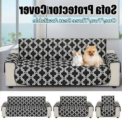 Pet Dog Kid Sofa Couch Cover Slipcovers Protector Loveseat M