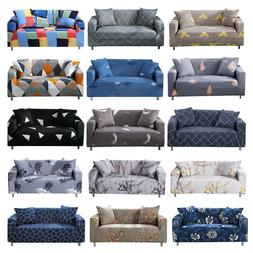 Printed Slipcover Sofa Covers Spandex Stretch Couch Cover Fu