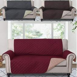 Reversible Loveseat Couch Covers Soft Slipcovers Quilted Hom