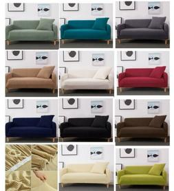 Sofa Cover Slipcovers 3 Seat Couch Protector for Furniture D