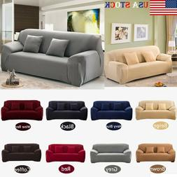 Sofa Covers 1/2/3/4 Seater Stretch Chair Couch Cover Elastic