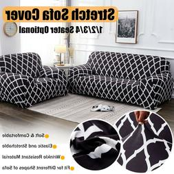 2/3 Seat Stretch Elastic Sofa Couch Cover Furniture Protecti