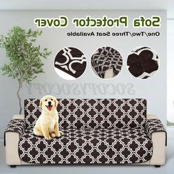 Waterproof Pet Sofa Cover Reversible Quilted Chair Couch Sli