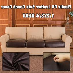 Waterproof Stretchy PU Sofa Seat Cushion Cover Couch Slipcov