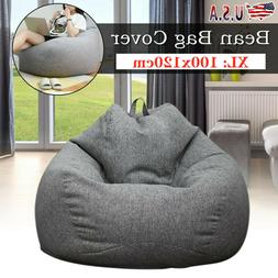 XL Large Bean Bag Chair Sofa Couch Cover Indoor Outdoor Lazy