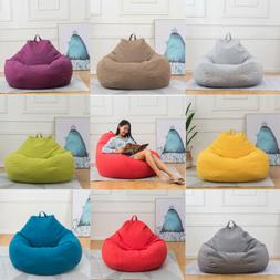 Large Bean Bag Chair Sofa Couch Cover Indoor Lazy Lounger fo